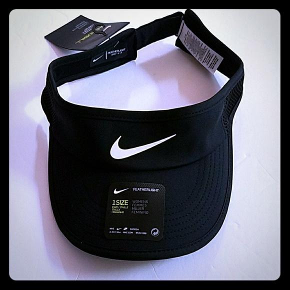 2c91699a Nike Accessories | Womens Featherlight Tennis Visor | Poshmark